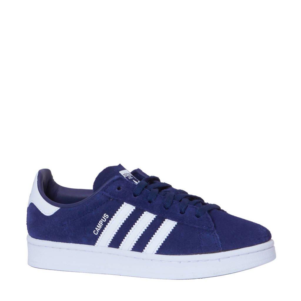 74d3c53eb57 adidas originals Campus sneakers, Donkerblauw/wit