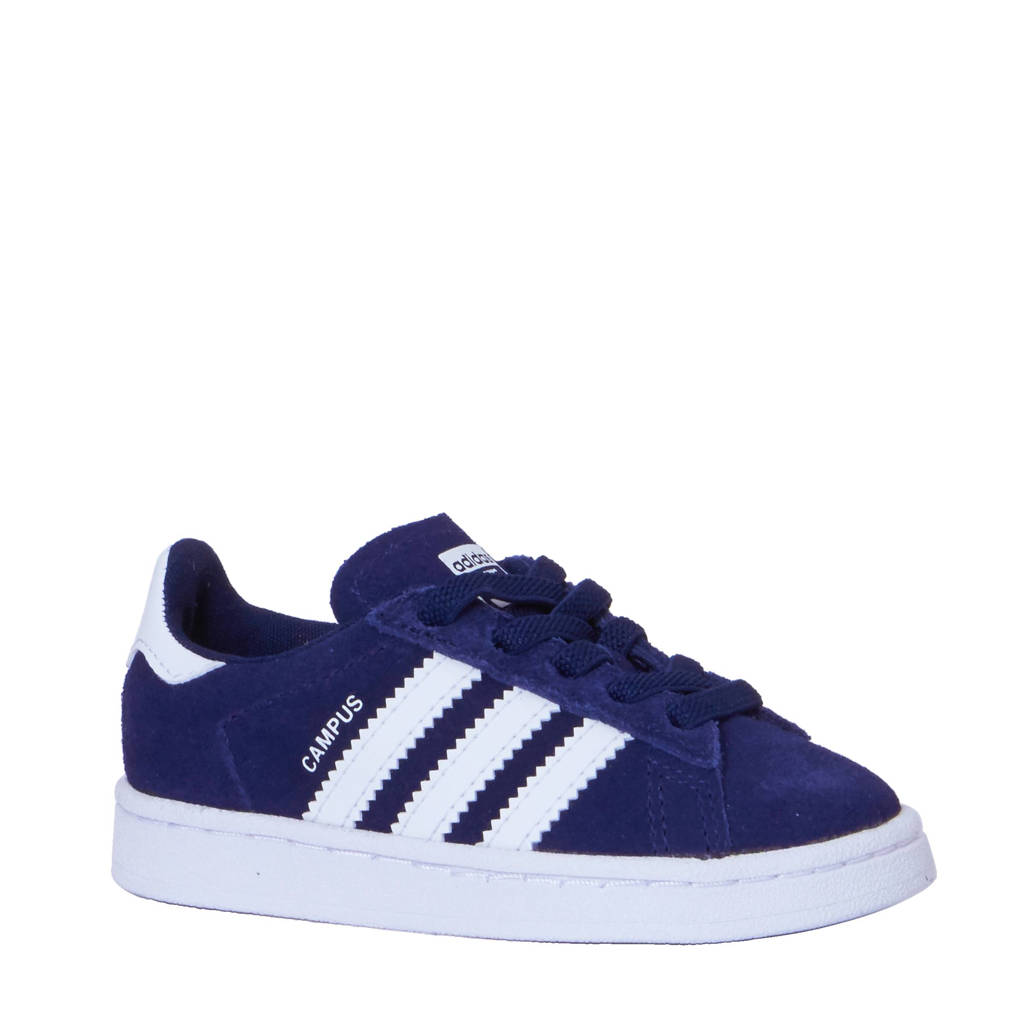 adidas originals  Campus EL sneakers, Donkerblauw/wit