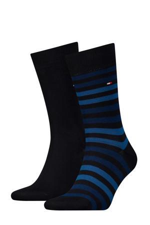 sokken - set van 2 marine
