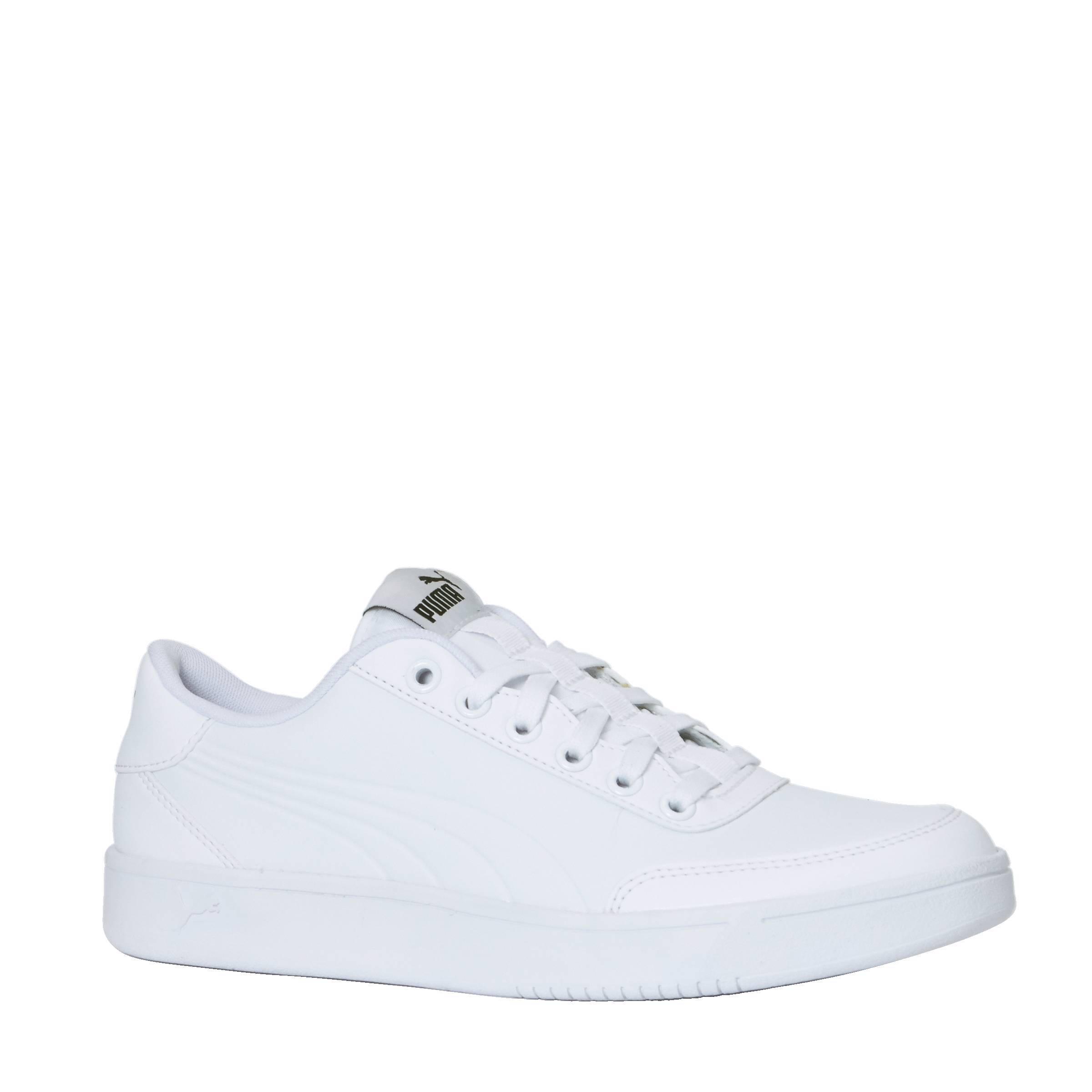 Puma Court Breaker L Mono sneakers   wehkamp