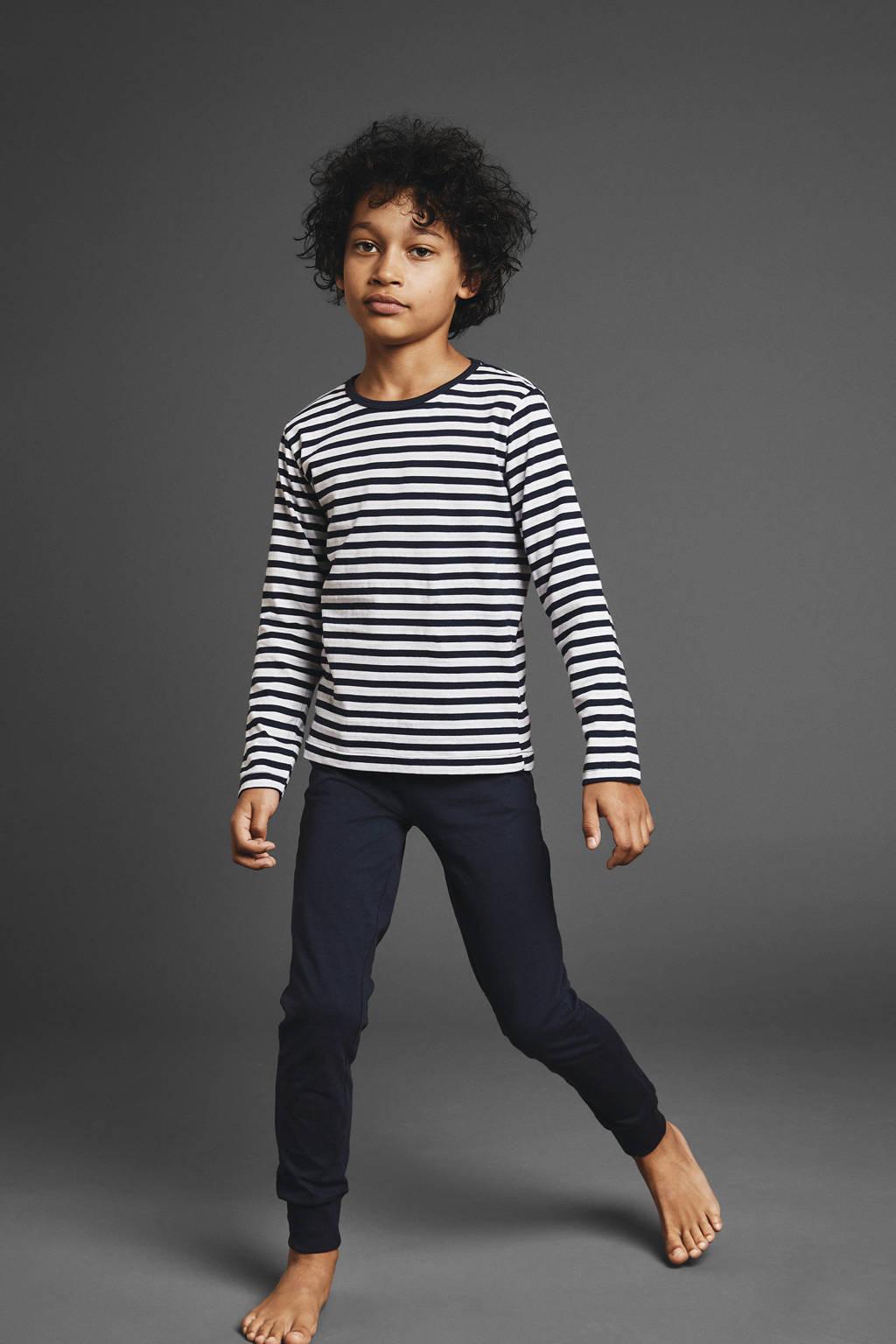 NAME IT MINI   pyjama, Donkerblauw/wit
