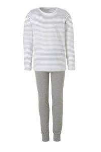 NAME IT KIDS pyjama, Grijs melange/wit