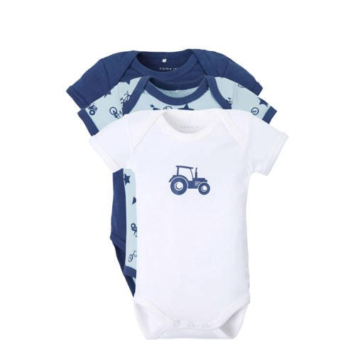 name it BABY romper (set van 3) kopen