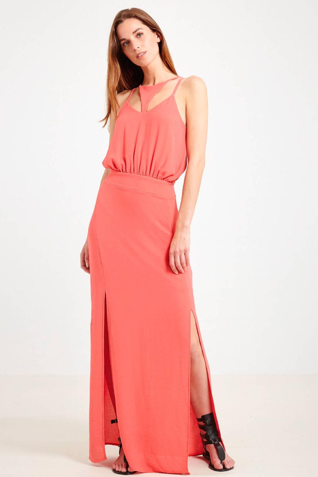 Morgan maxi jurk, Koraal