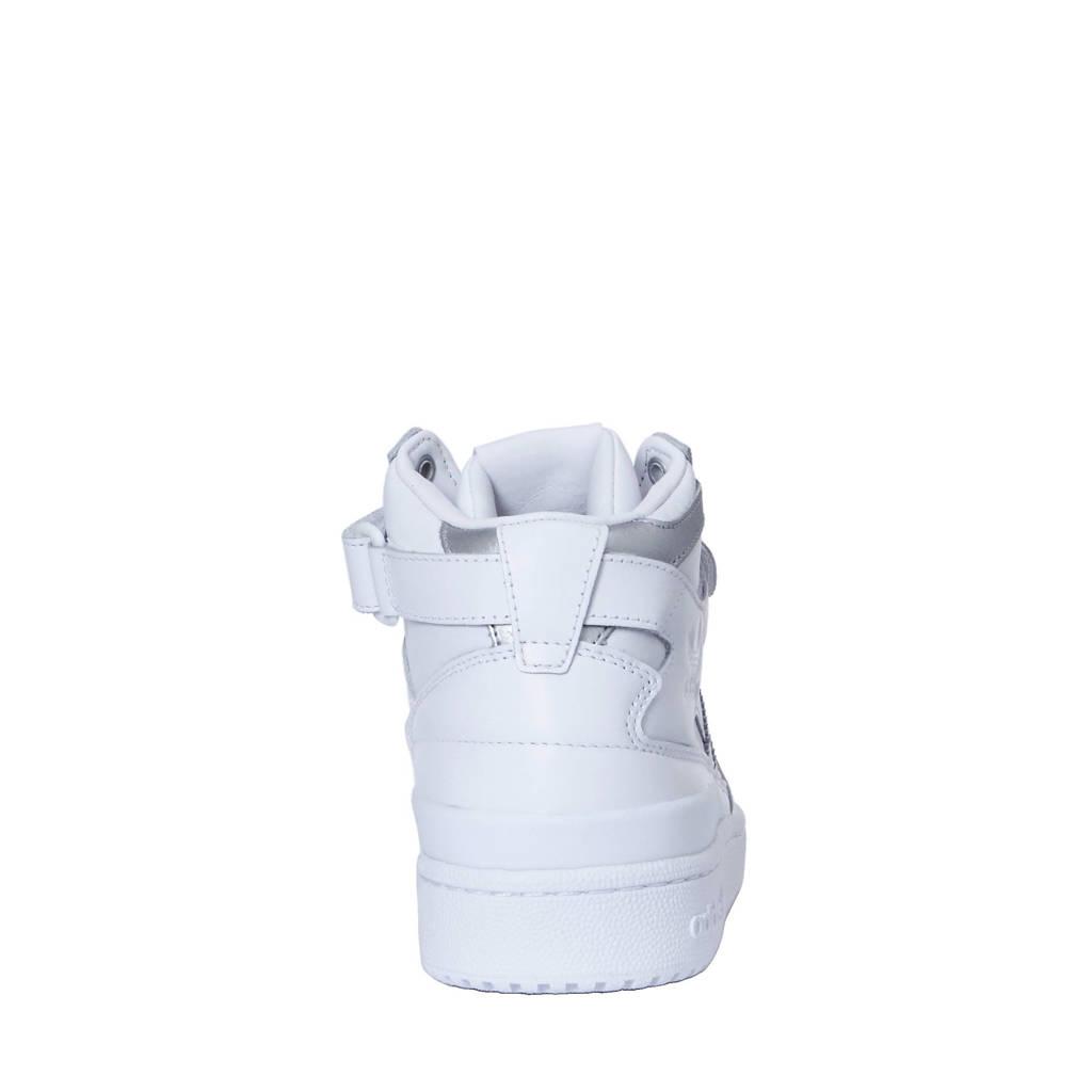 quality design c327c 59e14 adidas originals Forum Mid Refined leren sneakers, Wit