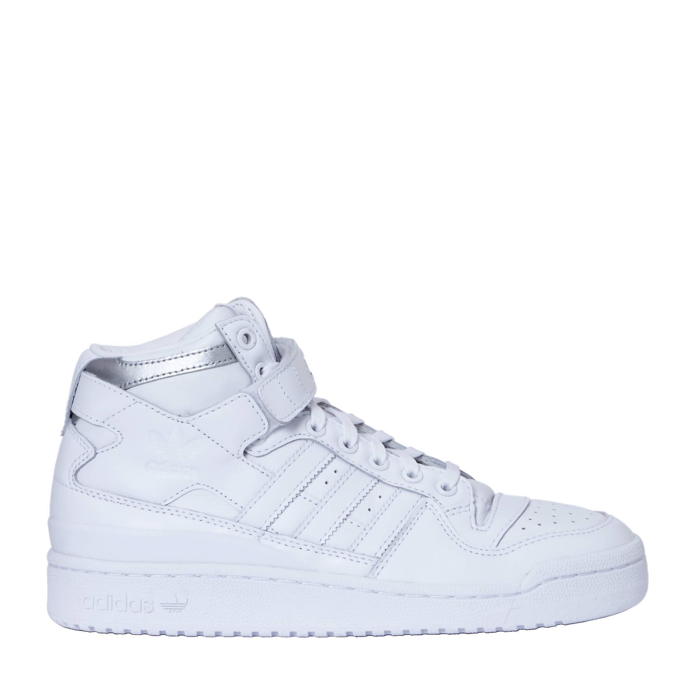 separation shoes 34bf8 485e5 adidas originals Forum Mid Refined leren sneakers  wehkamp