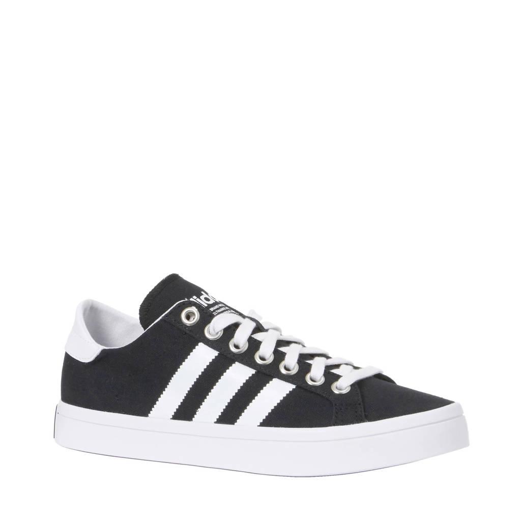 on sale 4d13e be1f9 adidas originals CourtVantage sneakers, Zwartwit