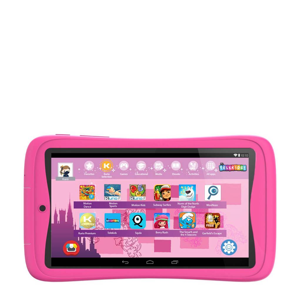 Kinder Tablet Roze.Kurio Tab Advance Telekids Kindertablet Roze Wehkamp