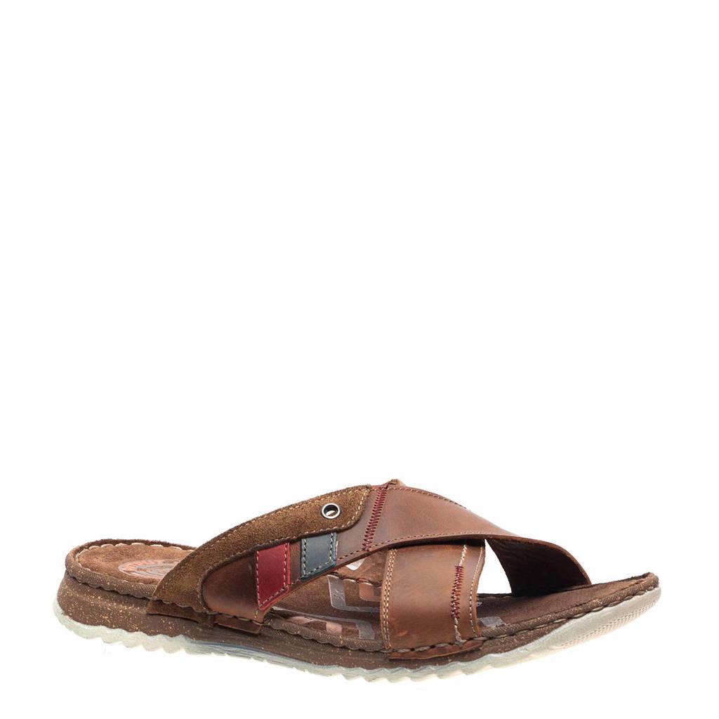 138da016bec882 Scapino Output leren slippers