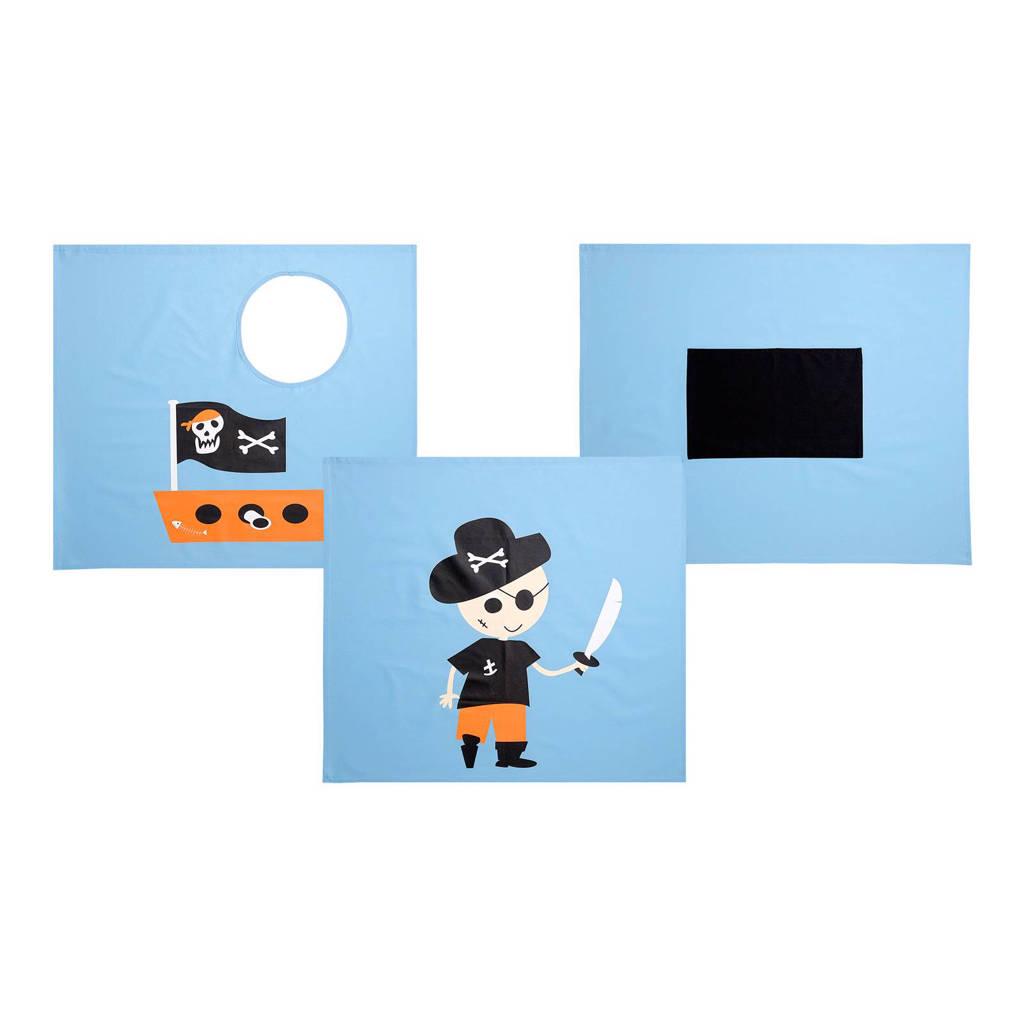Flexworld speelgordijn piraat, Blauw