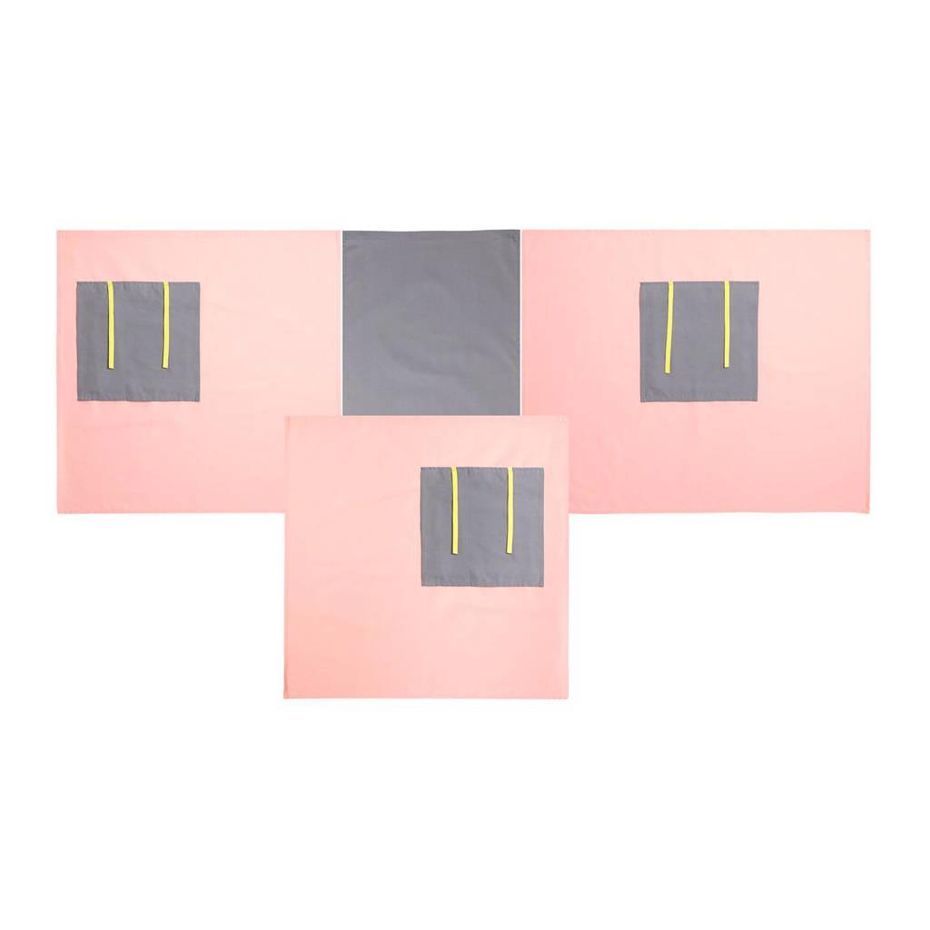 Flexworld speelgordijn, Roze