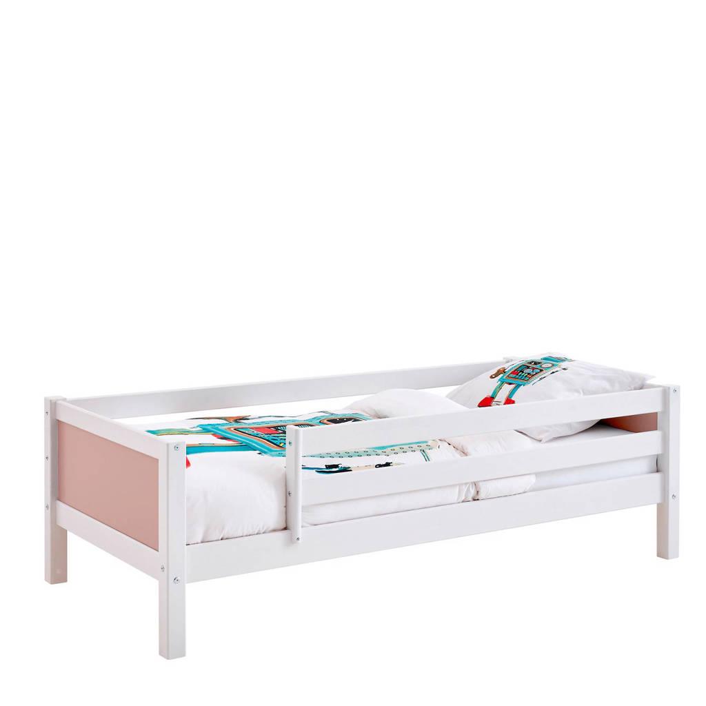 Flexworld bedbank met uitvalbeveiliging Jip (90x200 cm), Wit/roze