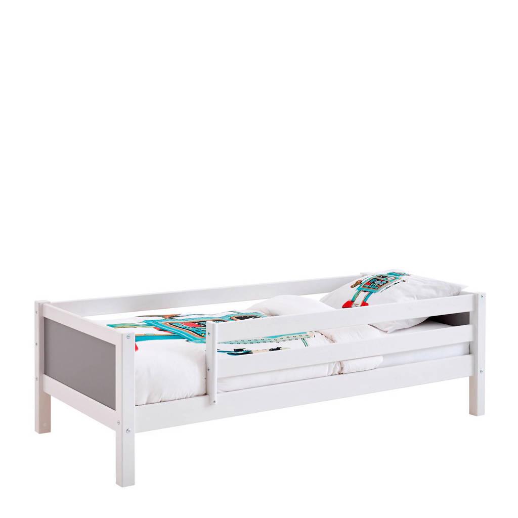 Flexworld bedbank met uitvalbeveiliging Jip (90x200 cm), Wit/antraciet