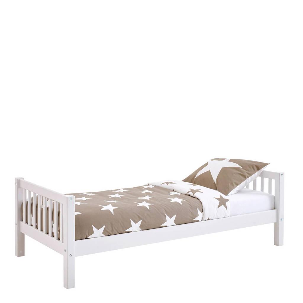 Flexworld bed Kris (90x200 cm), Wit/roze