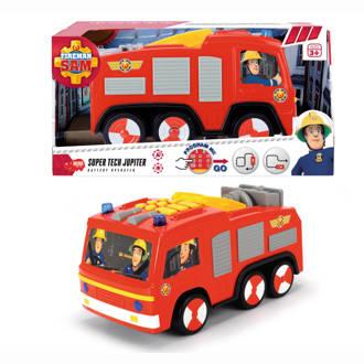 Brandweerman Sam super tech Jupiter brandweerauto