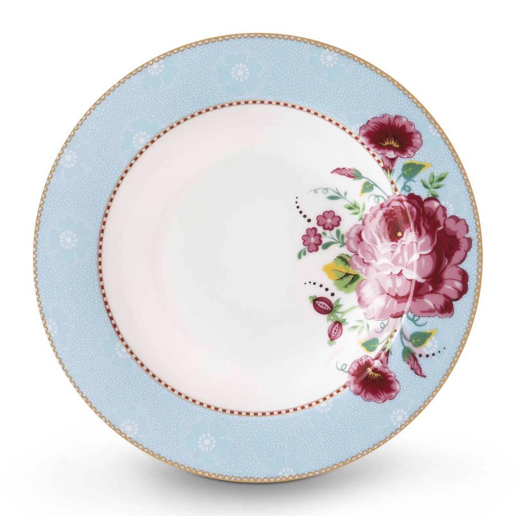 Pip Studio Floral soepbord (Ø21,5 cm), Blauw