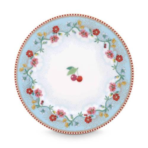 Pip Studio Floral gebaksbord (Ø17 cm) kopen