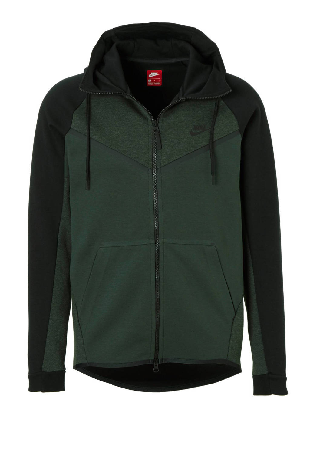 38bb53fc63c Nike Tech Fleece vest, Zwart/groen