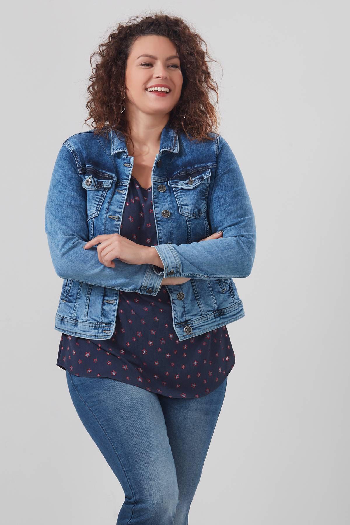 MS Mode spijkerjasje | wehkamp