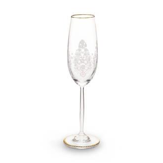 Floral champagneglas (Ø7,3 cm)