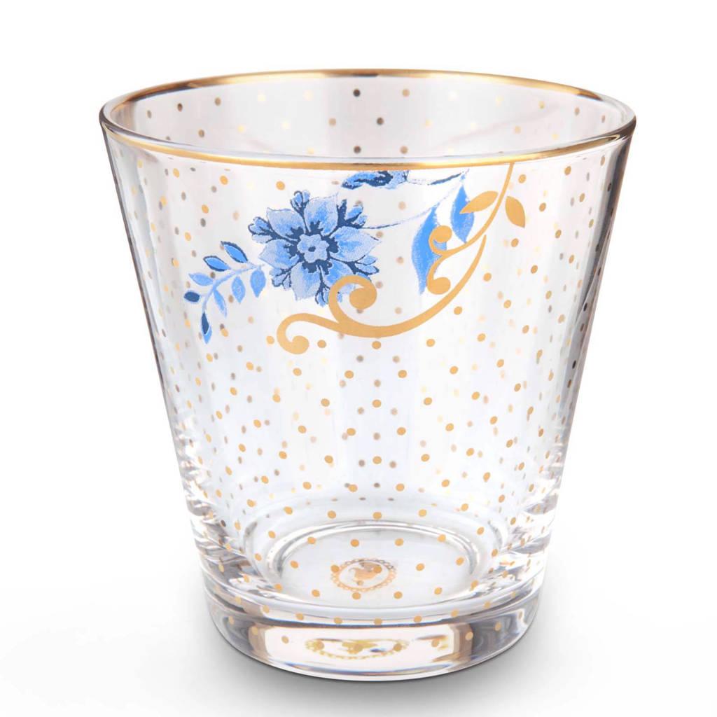 Pip Studio Royal waterglas (Ø8,6 cm), Transparant