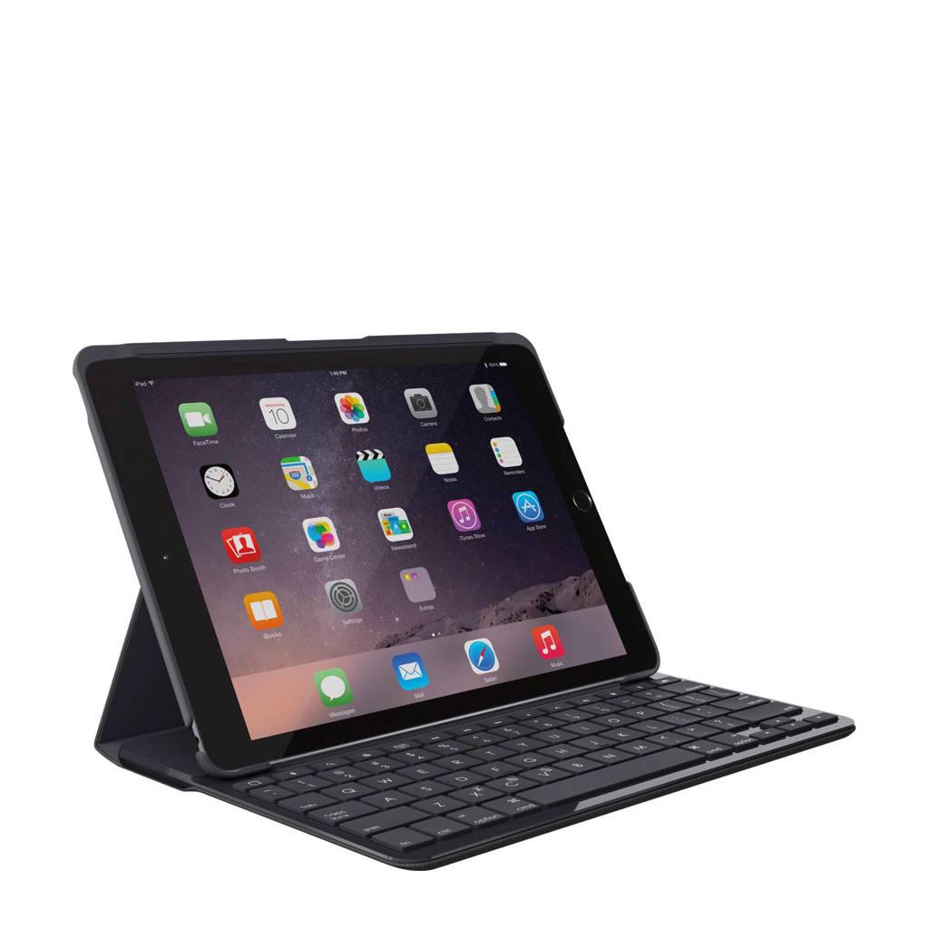 Logitech iPad (2017) Slim Folio toetsenbord cover, Zwart