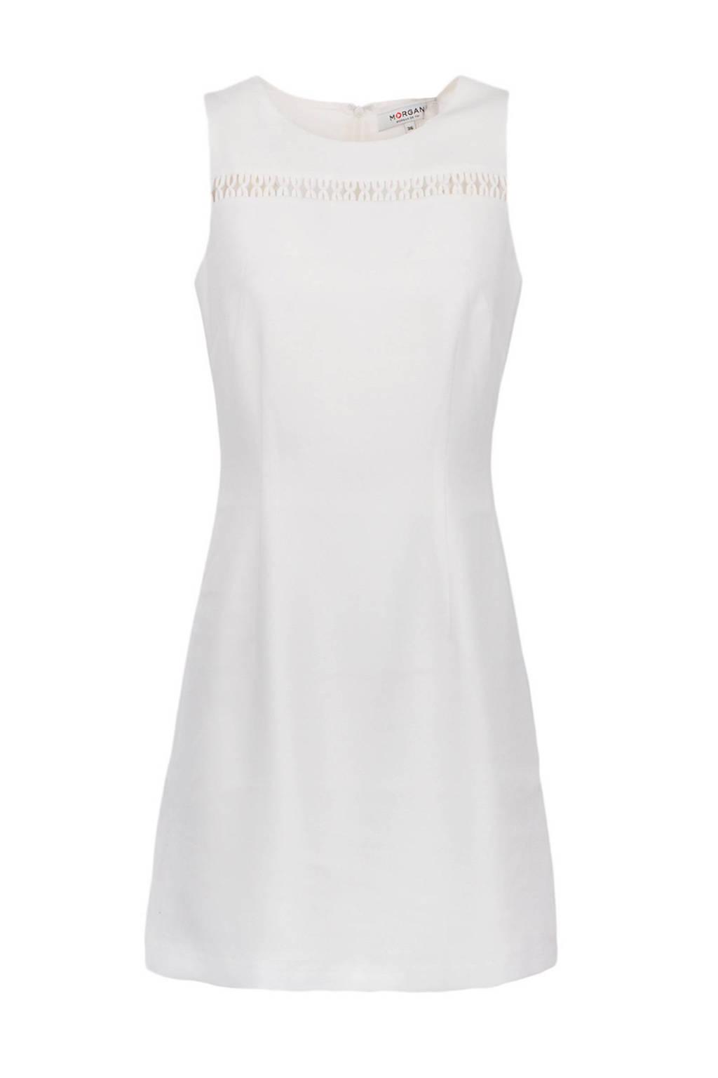 Morgan A-lijn jurk, Gebroken wit