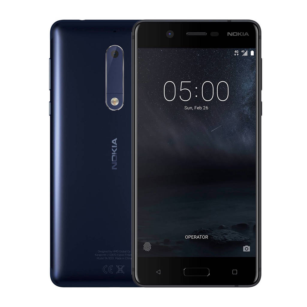 Nokia 5 blauw, Blauw