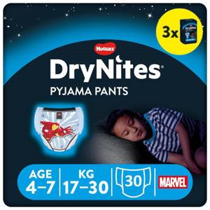 DryNites Pyjama Pants Boy 4-7 Years (17-30kgs) 3 pakken