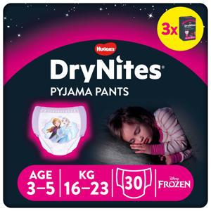 DryNites Pyjama Pants Girl 3-5 Years (16-23kg) 3 pakken