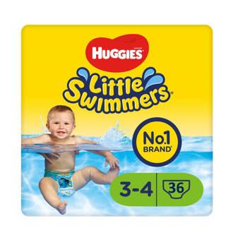 Little Swimmers maat 3-4 - voordeelverpakking - 36 zwemluiers