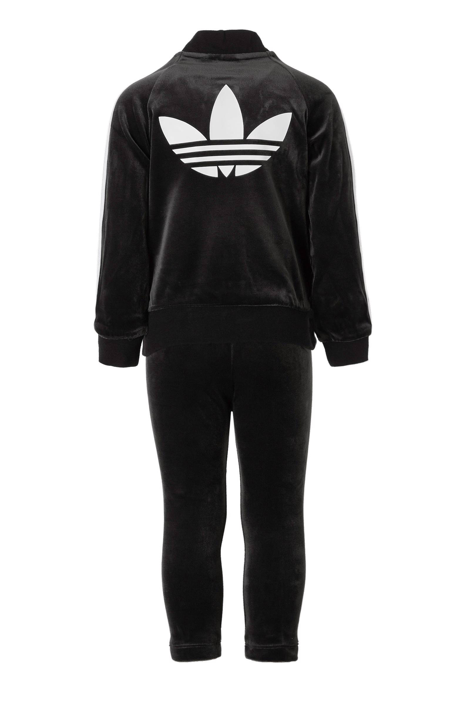 adidas Originals fluwelen trainingspak