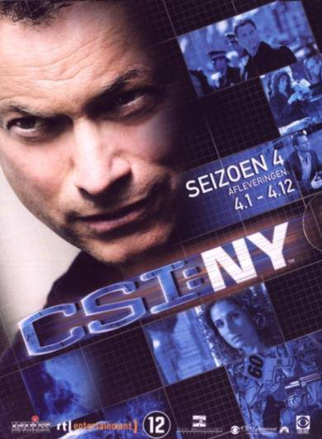 CSI New York - Seizoen 4 deel 1 (DVD)