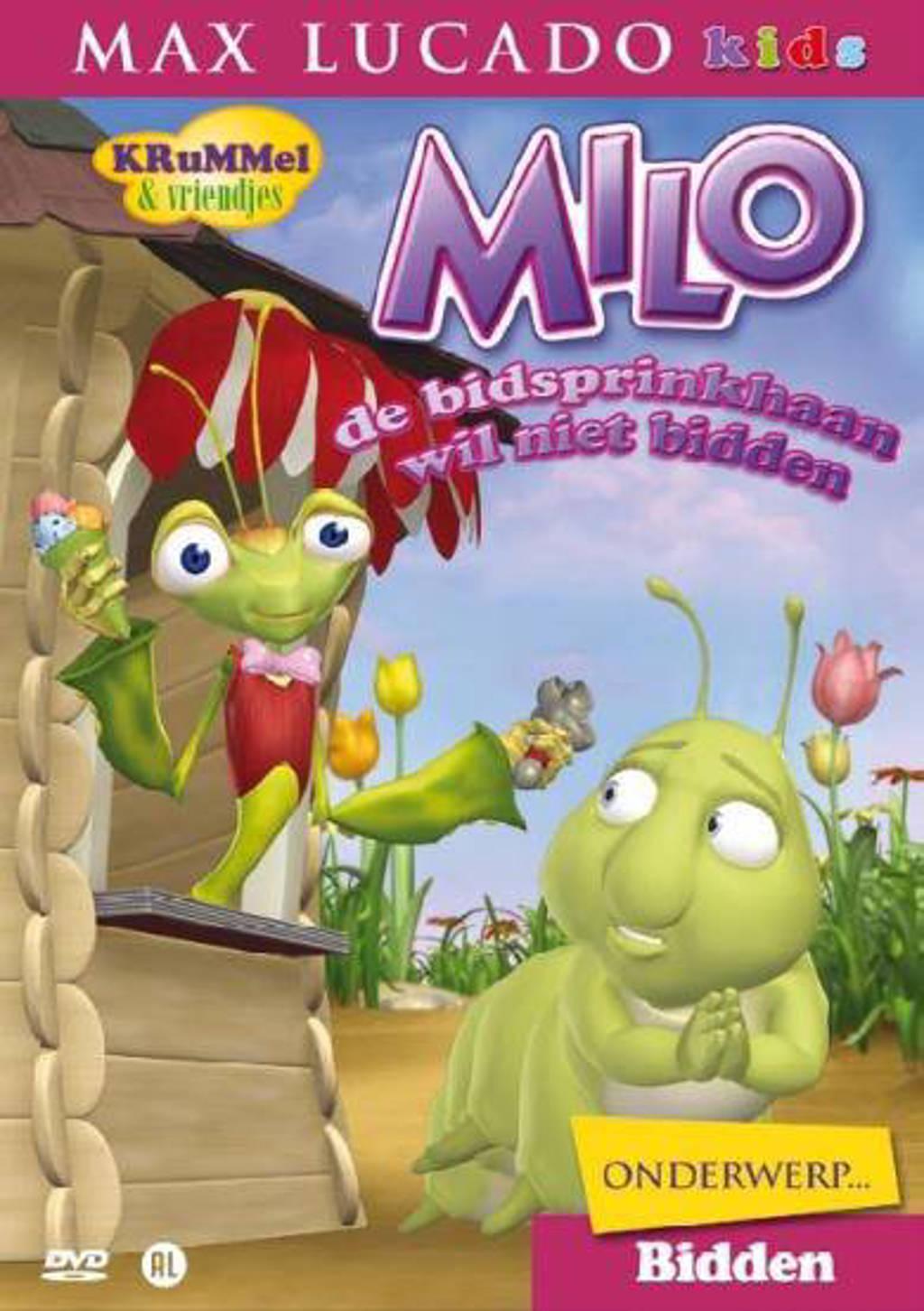 Krummel-milo de bidsprinkhaan wil niet bidden (DVD)