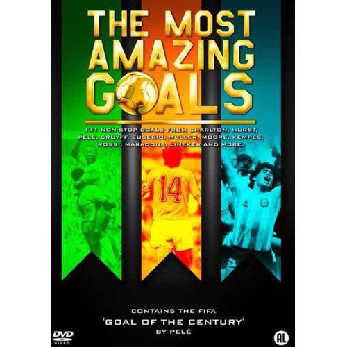 Most amazing goals (DVD) kopen