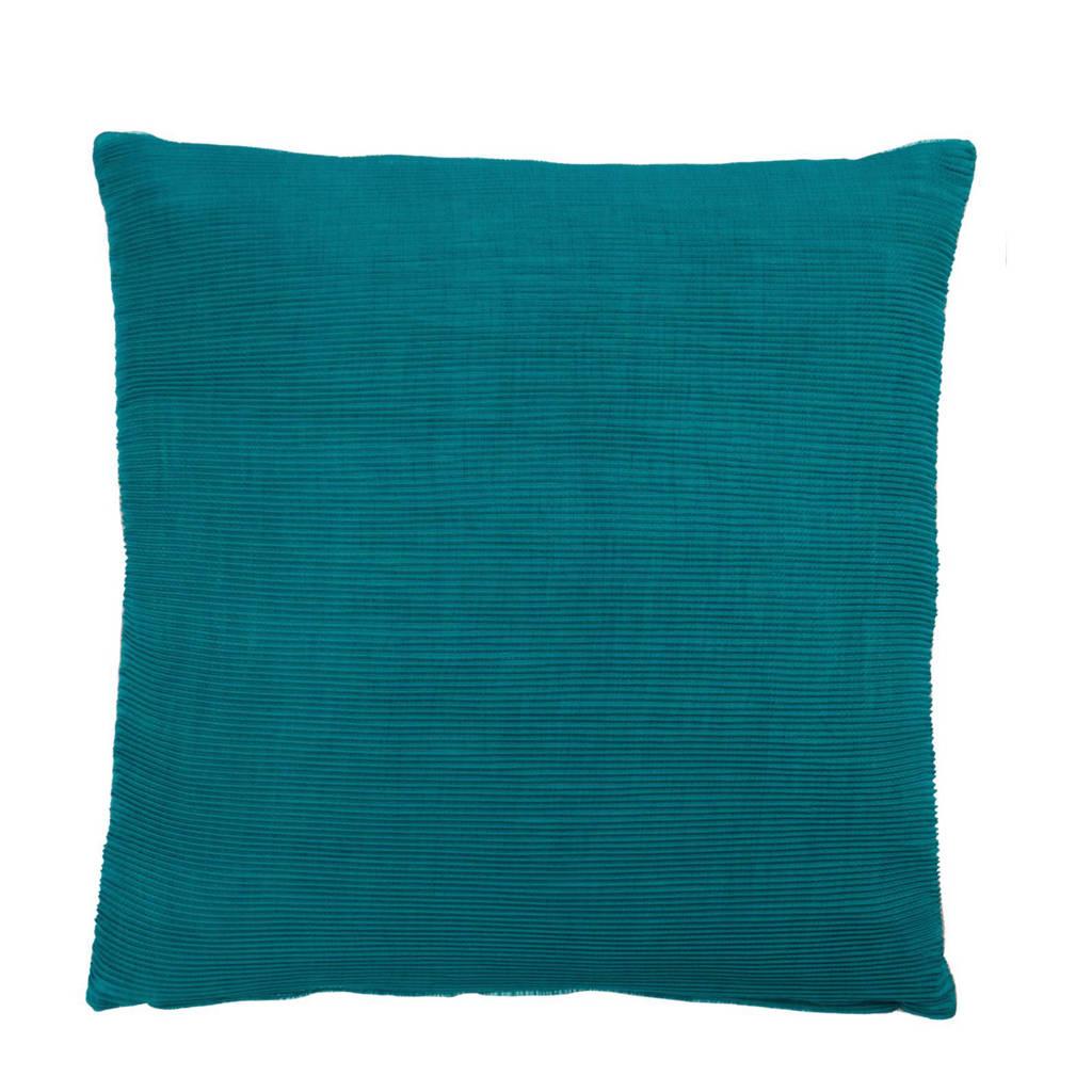 KAAT Amsterdam sierkussen Mesa Verde (45x45 cm), Groen/blauw