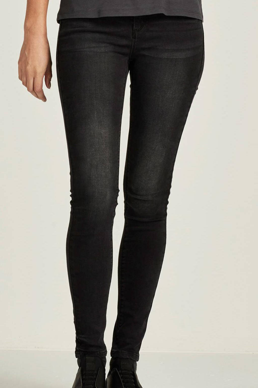 Il Dolce extra high rise slim fit jeans Jakarta, Dark grey