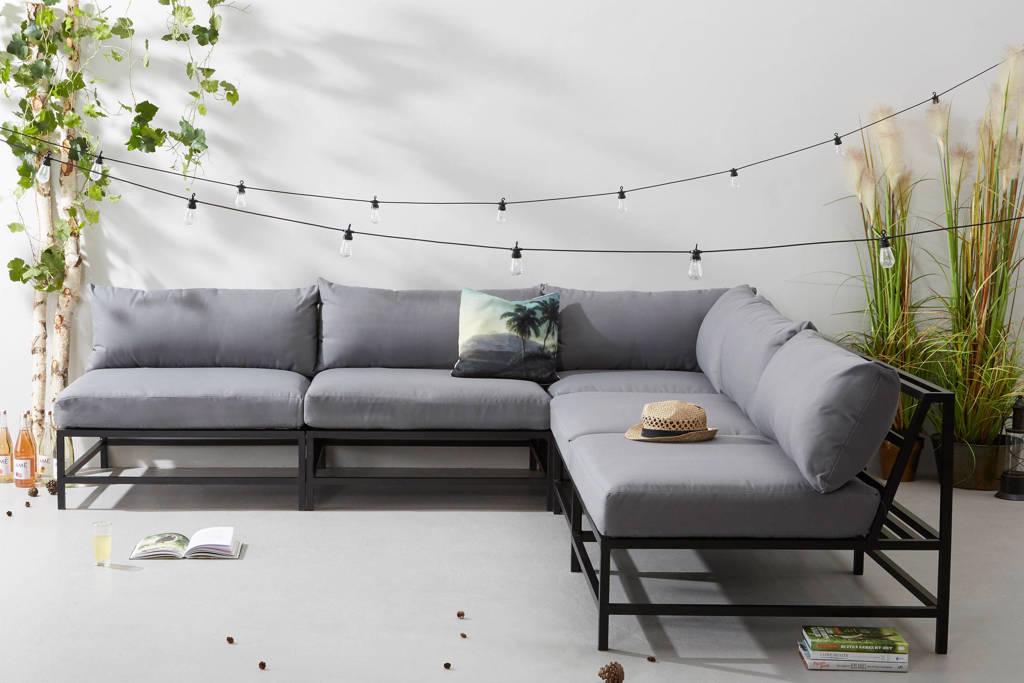 whkmp's own loungeset Pacific, Zwart/grijs