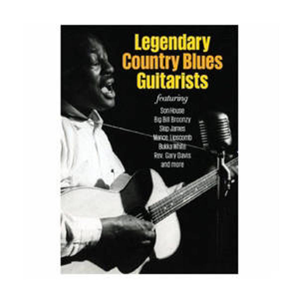 Various - Legendary Country Blues Guitarists (DVD)