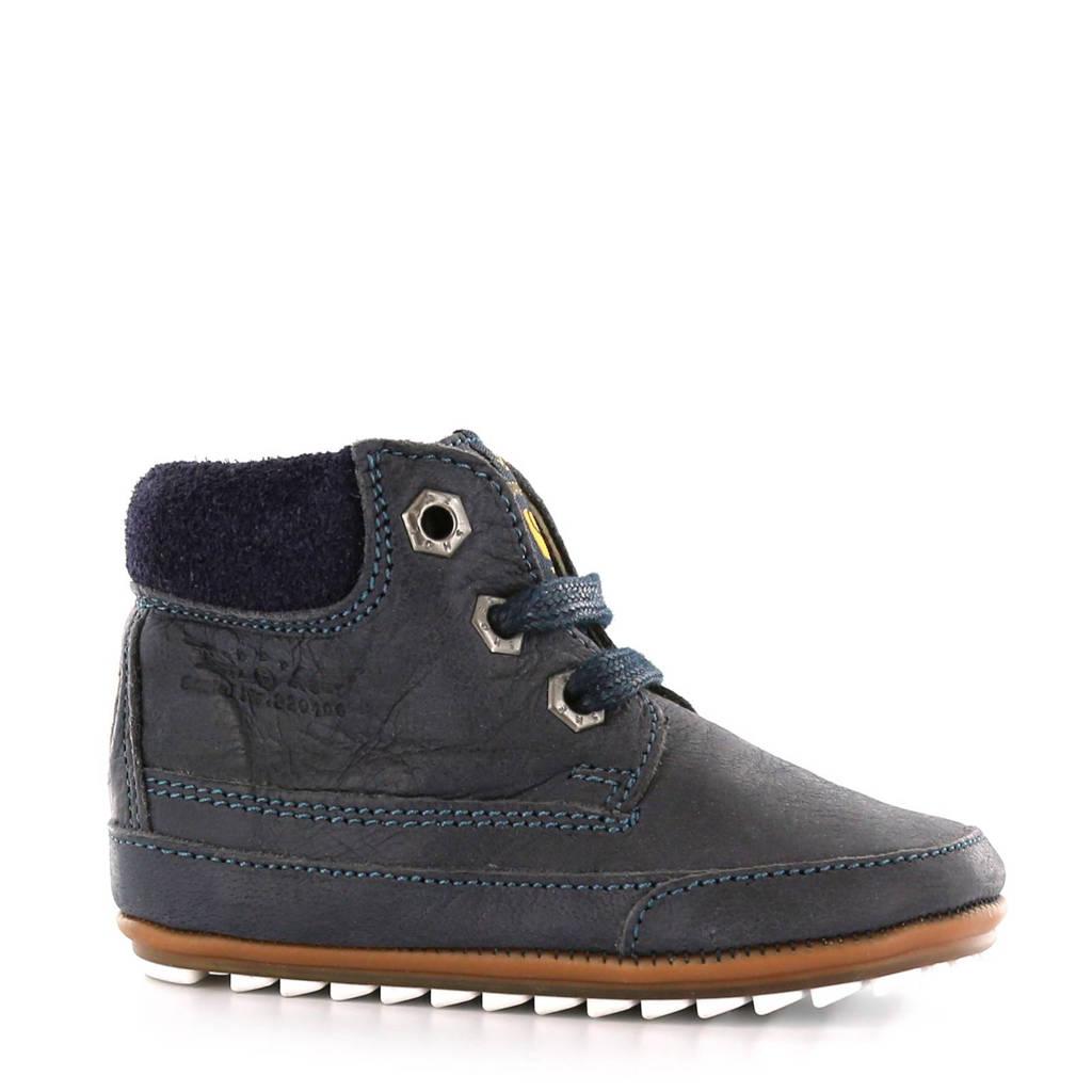 Shoesme   leren babyschoenen, Donkerblauw