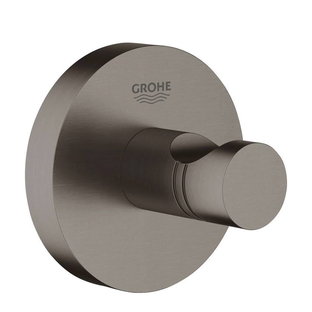 Grohe Essentials handdoekhaak, Antraciet