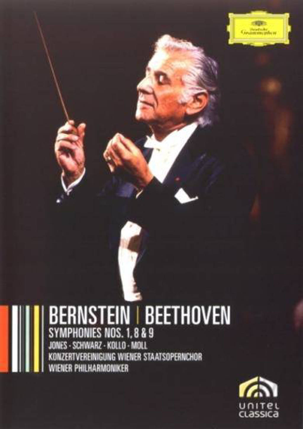 Leonard Bernstein - Beethoven cycle 1 (DVD)