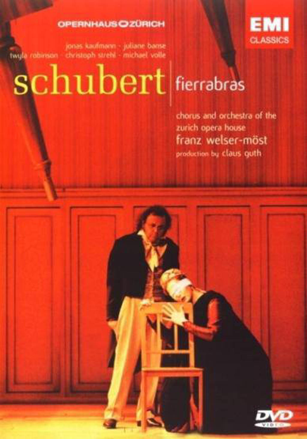 Welser-Most - Schubert Fierrabras/Zurich Ope (DVD)