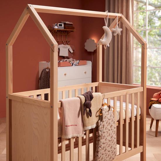 Babykamerstijl: Rustic Terra