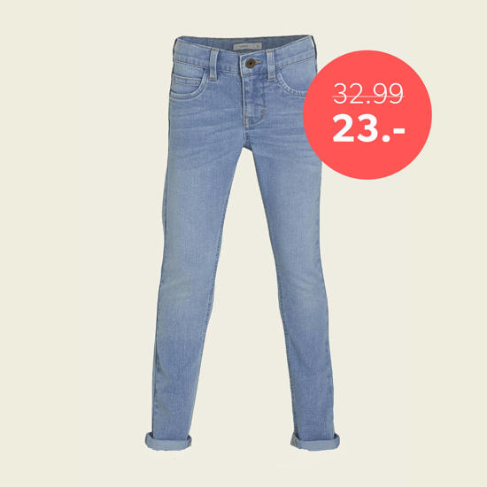 Tot 30% korting op jeans voor kids