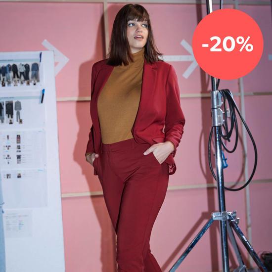20% korting op heel veel grote maten mode