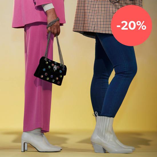 20% korting op schoenen