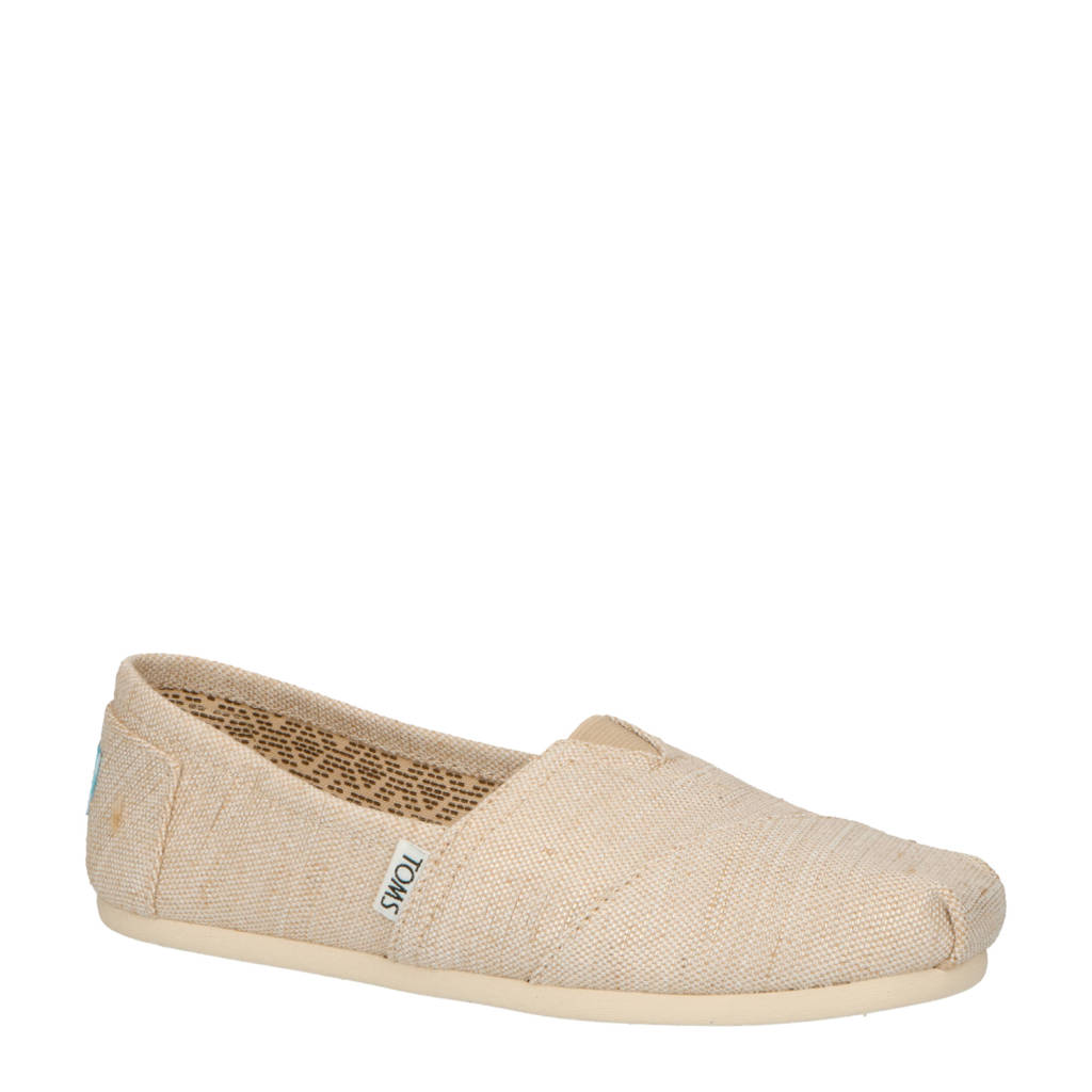 Toms Alpargata Riviera loafer, Ecru/leer