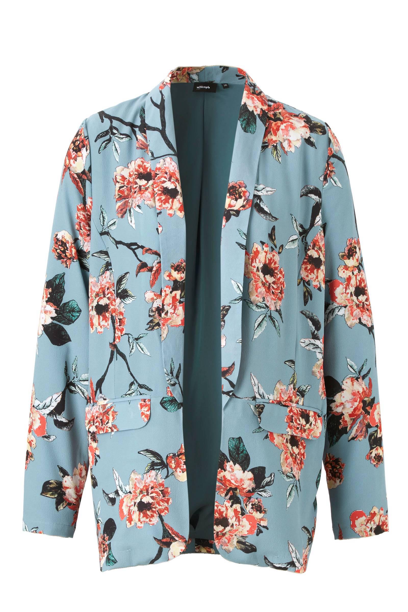 whkmp's own gevoerde crépe geweven blazer (dames)