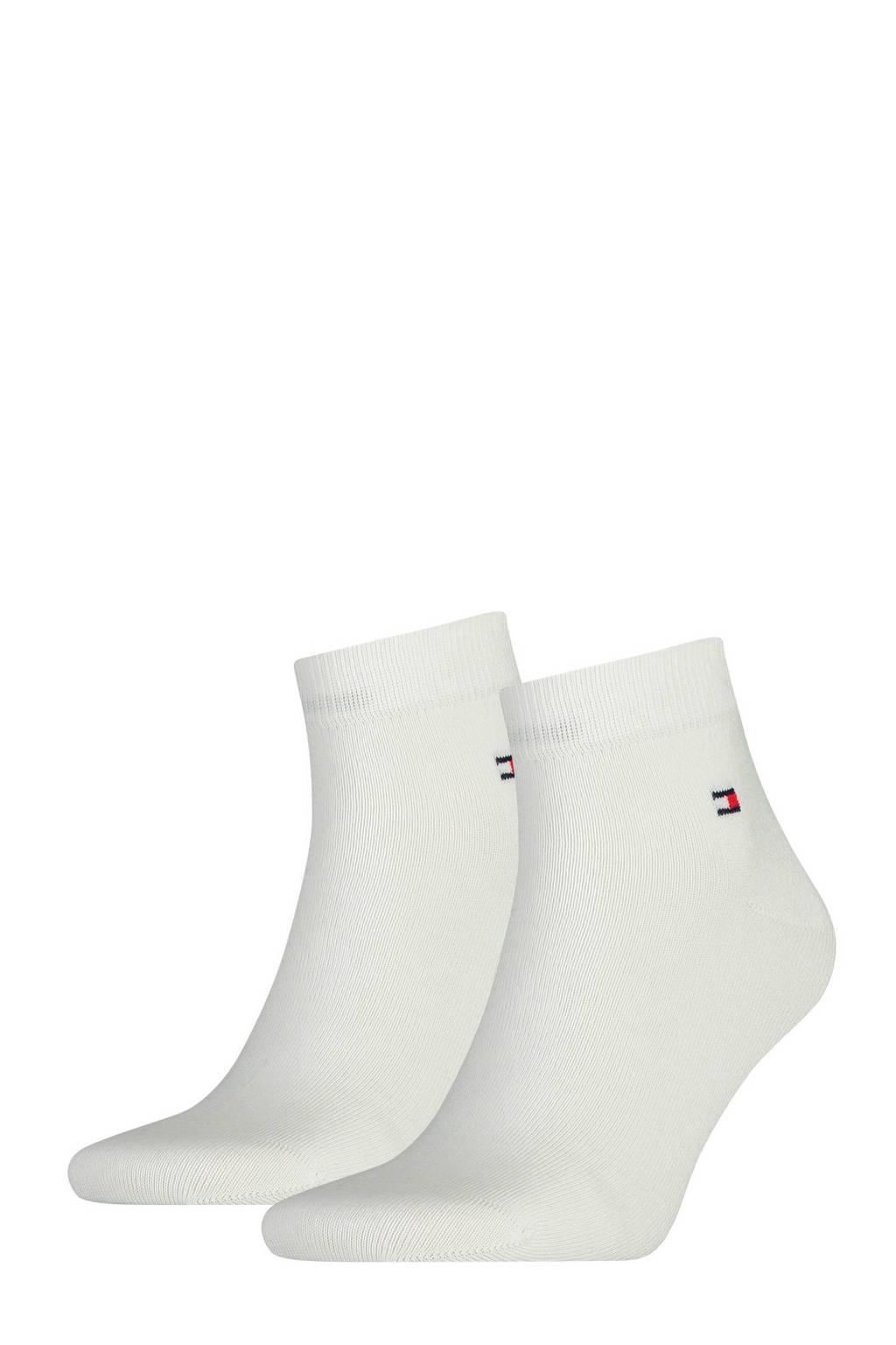 Tommy Hilfiger quarter sokken (2 paar), Wit